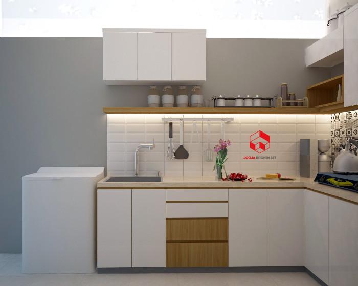 Jasa Kitchen Set Jogja Produksi Dapur Custom Premium