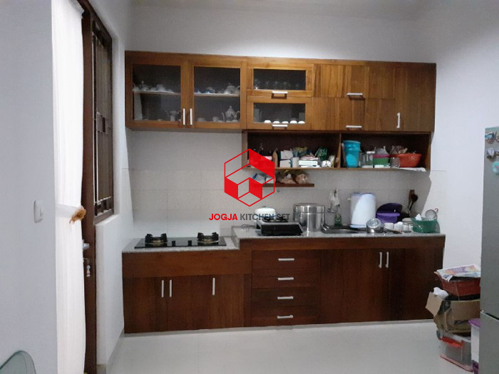Kitchen set solid wood kayu jati